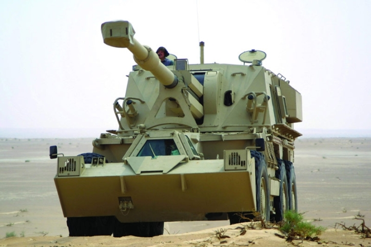 denel g6 155m self propelled artillery gn