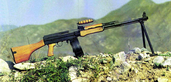 dicon machine gun type 81