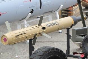 A denel Ingwe Missile